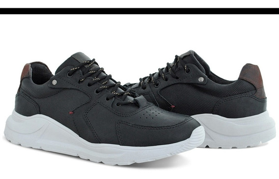 Tênis Sapatenis Jogging Couro Estilo adidas Macio Euroflex
