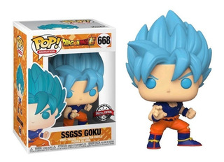 Funko Pop! Animation Dragon Ball Z Ssgss Goku #668