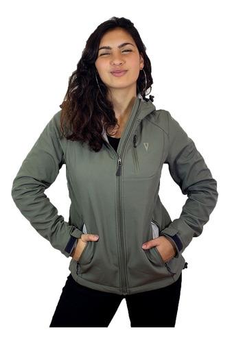 Campera Neopreno Impermeable Mujer Deportiva Sport