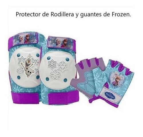 Protector De Manos Y Rodillas  De Frozen.