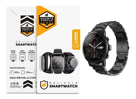 Película Nano Gel Dupla Relógio Xiaomi Amazfit Stratos - Gs