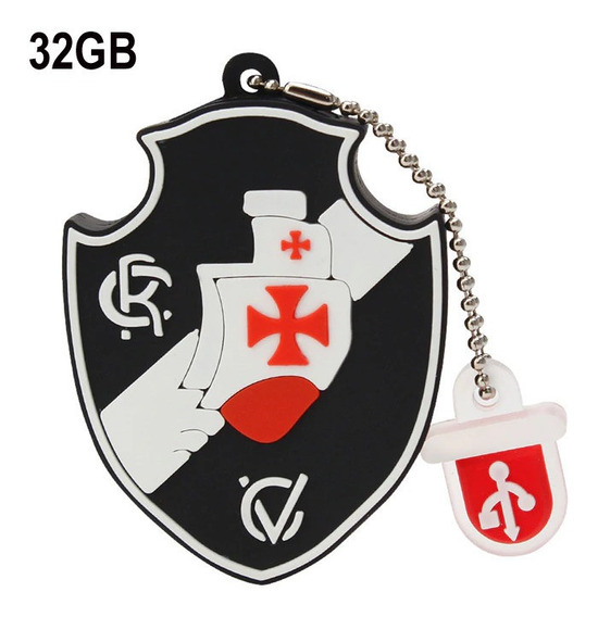 Pen Drive Vasco Da Gama 32gb - Emborrachado