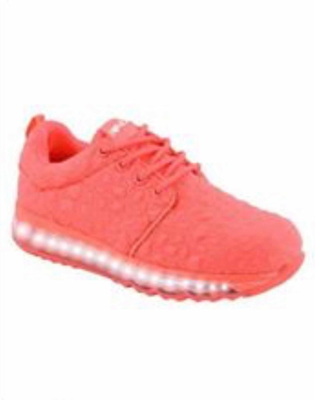 Zapatillas I¿¿47 Street, Luz, Naranja, Talle: 32 (21cm)