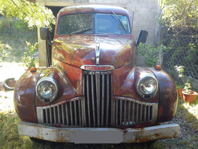 Studebaker 1947 Pick Up Motor Chevrolet 6 Cil.