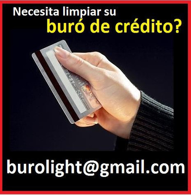 Buro Creedito Limpio Arreglar-registro Historial Deudas Tach