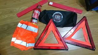 Kit De Seguridad/emergencia Auto Fiat - Ideal Vtv