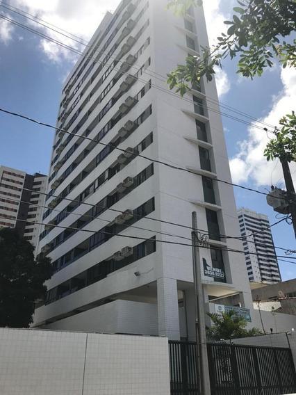 Apartamento Em Torre, Recife/pe De 89m² 3 Quartos Para Locação R$ 1.900,00/mes - Ap386577