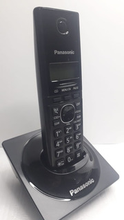 Telefone Fixo De Mesa Sem Fio Panasonic Kx-tg1711 Preto