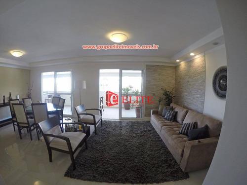Apartamento Com 4 Dormitórios À Venda, 167 M² Por R$ 1.537.000,00 - Jardim Esplanada - São José Dos Campos/sp - Ap3222