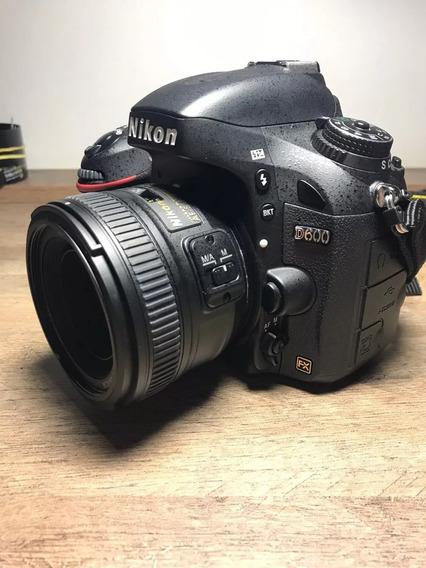 Nikon Dslr D600 Apenas 15000 Cliques