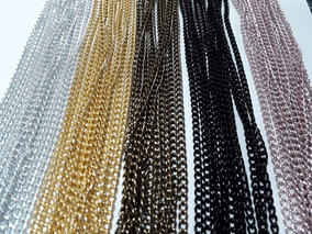 Corrente 30 Metros - Prata Dourada Ourovelho Preta Lilás