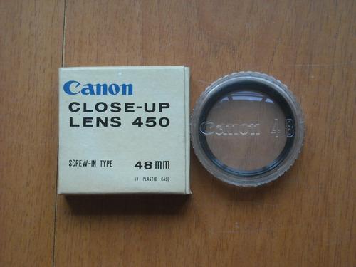 Lente De Close-up 450 Canon