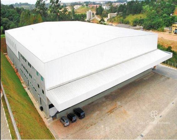 Galpão Para Alugar, 6580 M² Por R$ 112.000/mês - Vila Jovina - Cotia/sp - Ga0083
