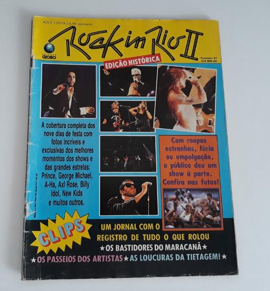 Revista Rock Espetacular - Rock In Rio Ii - 1991