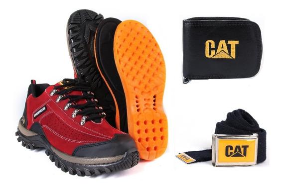 Bota Caterpillar Masculino Couro Original (promoção) Top