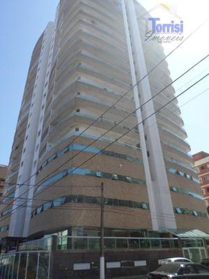 Apartamento Em Praia Grande, 02 Dormitórios Sendo 01 Suite, Lazer Completo Na Vila Tupi Ap1191 - Ap1191