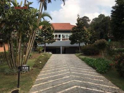 Casa Com 4 Dormitórios À Venda, 320 M² Por R$ 1.750.000 - Morada Dos Pássaros - Barueri/sp - Ca0498