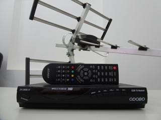 Antena Externa Tda Y Decodificador Odobo