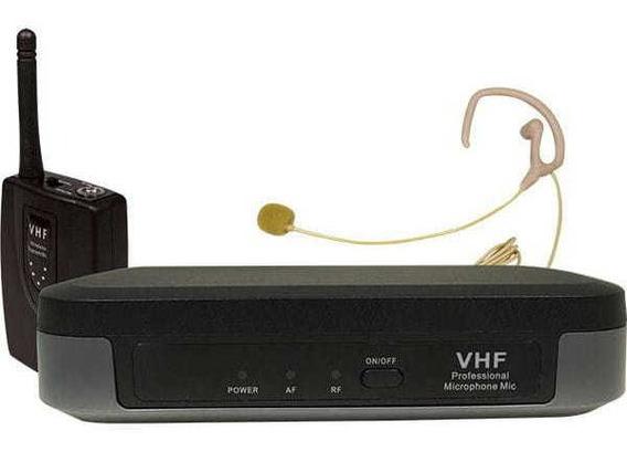 Microfone Auricular Ld-4061 Vhf Nude Loud