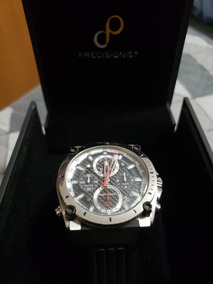 Relógio Bulova Masculino Precisionist Pulseira De Borracha