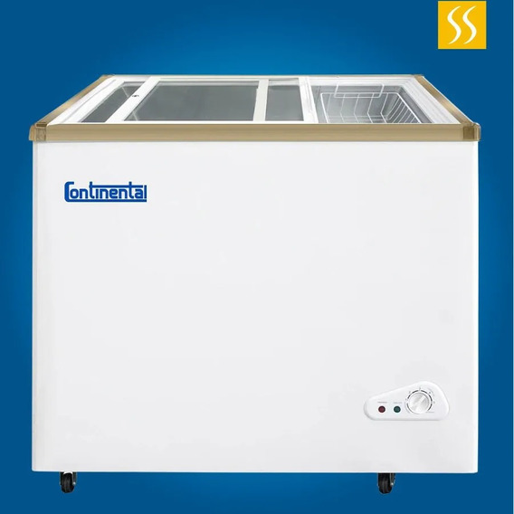 Congelador Refrigerador 5 Pies 168lt Llaves Tapa Vidrio