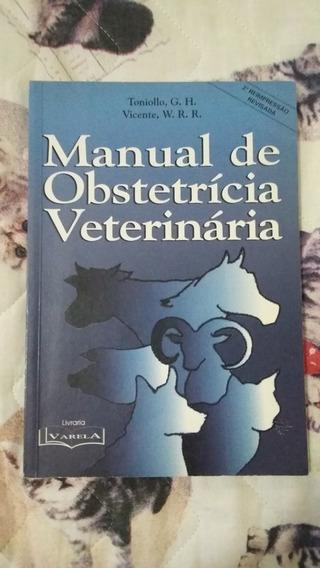 Livro Manual De Obstetrícia Veterinária