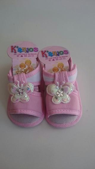 Sandália Para Bebê Menina Borboleta