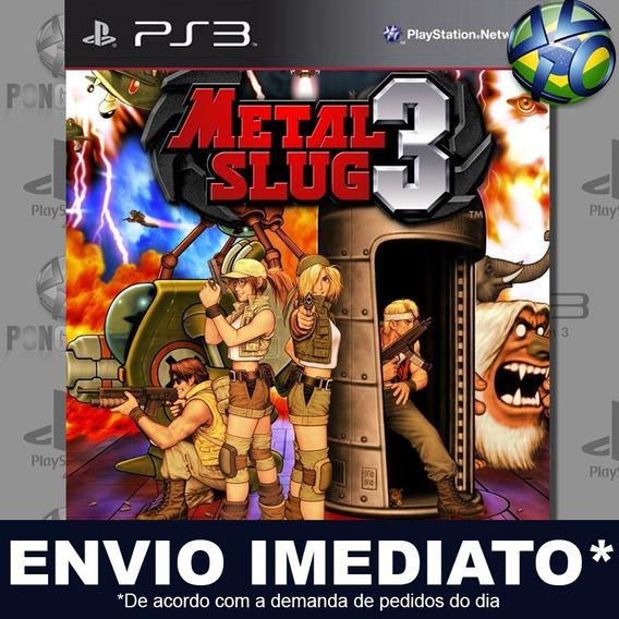 Metal Slug 3 Ps3 Psn Jogo Em Promoção Pronta Entrega Play 3