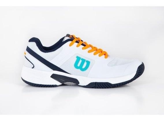Zapatillas Tenis Wilson Set 2.0 - En Tenis Con Efecto