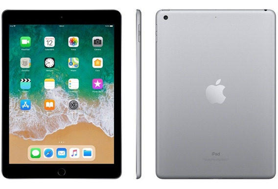 Apple iPad 5ª Geração 32gb A1822 Wi Fi 9.7 Nf Novo