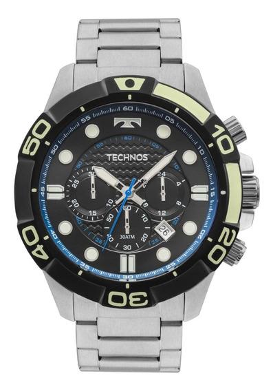 Relógio Masculino Technos Performance Acqua Js25bq/1p Prata