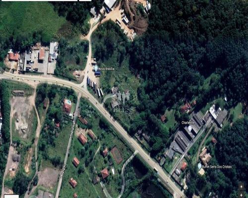 Área Comercial Ou Industrial Bairro Do Castanho, Jundiaí Sp Linda Área Com 39842 Metros Sendo 100 Metros De Frente Pra Rodovia, Situado Na Região De J - Ar00014 - 31947277