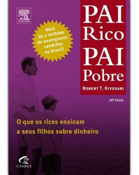 Livro Pai Rico Pai Pobre
