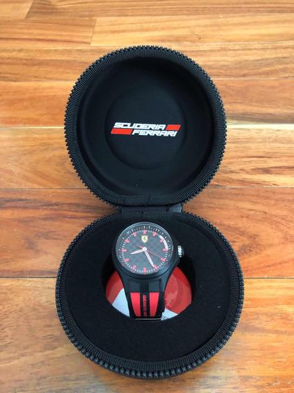 Reloj Scuderia Ferrari Original Regalo Impecable Estuche