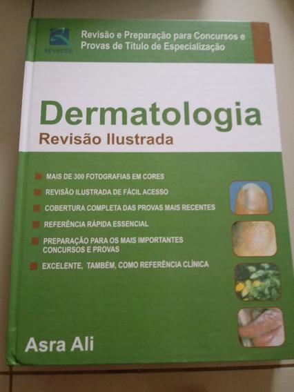 Livro Dermatologia Revisão Ilustrada, Novo