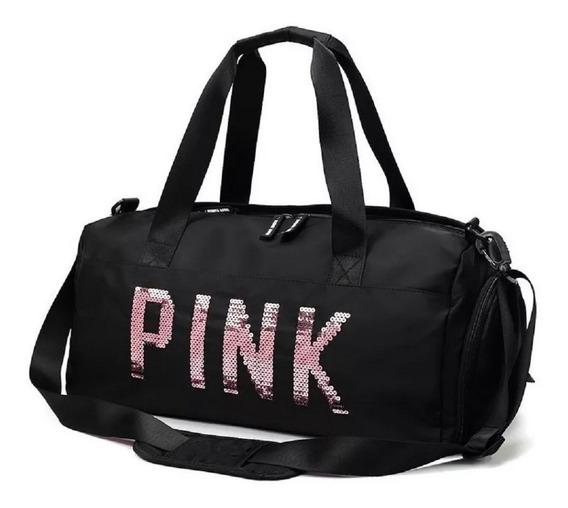 Bolsa Feminina Mala Coleção Pink Academia Fitness Youtuber