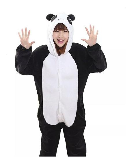 Pijama Oso Panda Kigurumi Cosplay Adultos Niños 5 Diseños