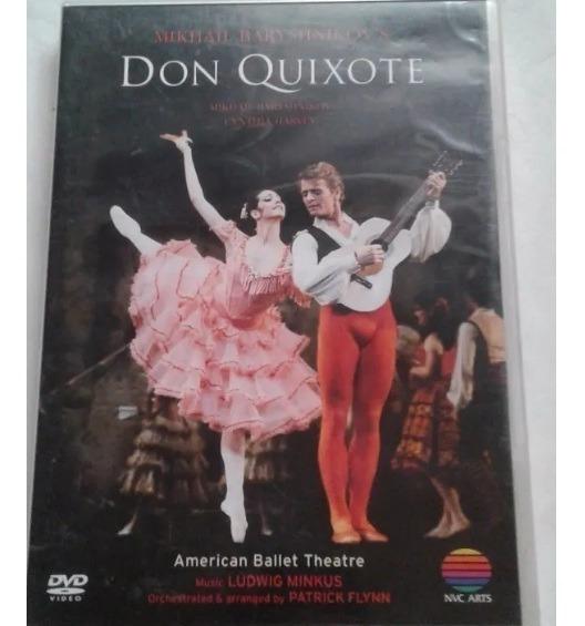 Mikhall Baryshnikov - Don Quixote - Dvd - Original!!!!