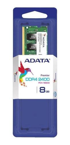 Imagem 1 de 2 de Memória Ram 8gb 1x8gb Adata Ad4s240038g17-s Premier Series