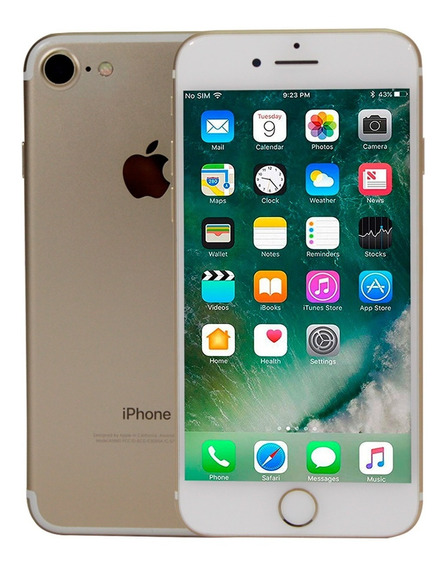 Celular Apple iPhone 7 128gb Quad Core Ios 12.1.2 A10