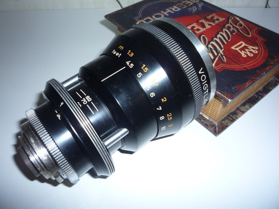 Lente Voigtlander Zoomar - Dkl - 36-82mm/2.8 - Coleção