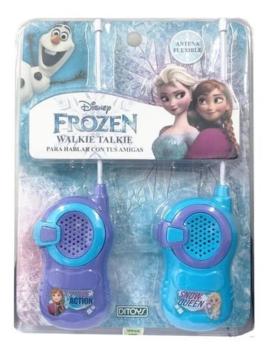 Frozen Walkie Talkies Licencia Original Ditoys