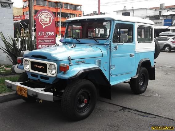 Toyota Fj 40 Land Cruiser