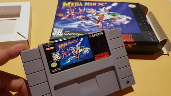Mega Man X2 Snes Original