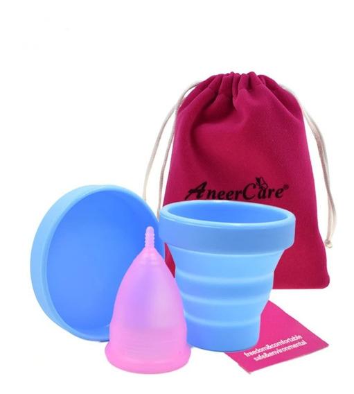 Kit Coletor Menstrual Tamanho L Ou S + Copo Esterilizador