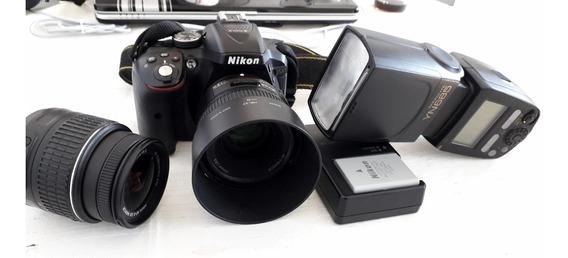 Câmera Fotografica Nikon D5300 Completa