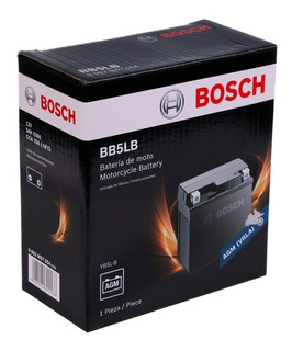 Bateria Moto Bosch Bb5lb Yb5l-b Zanella Zb 110 Whiteshark