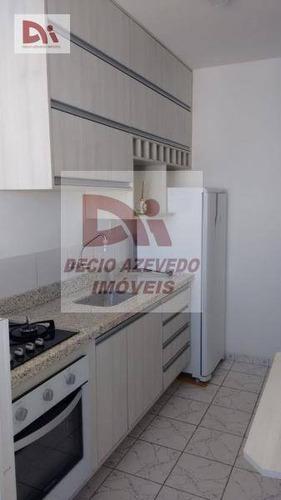 Apartamento Com 2 Dormitórios À Venda, 56 M² Por R$ 200.000,00 - Parque São Luís - Taubaté/sp - Ap0080