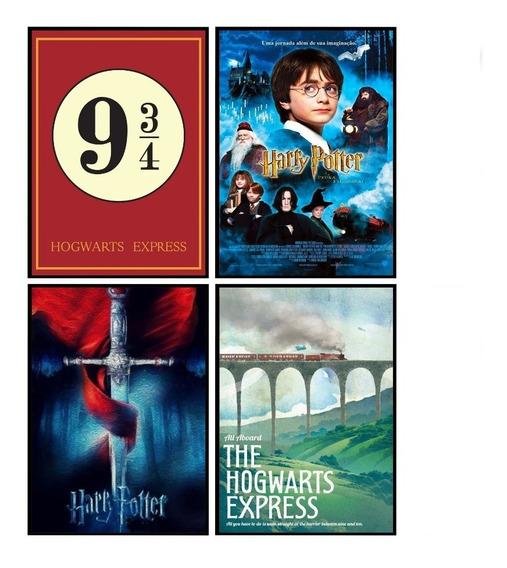 Quadro Poster Placa Decorativa Filme Harry Potter 30x42 A3