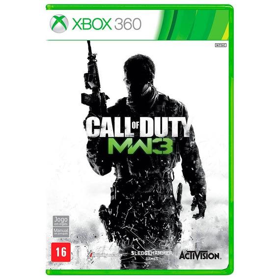 Call Of Duty Modern Warfare 3 Mw3 Xbox 360 / One Seminovo